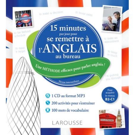 15 minutes pour l'anglais